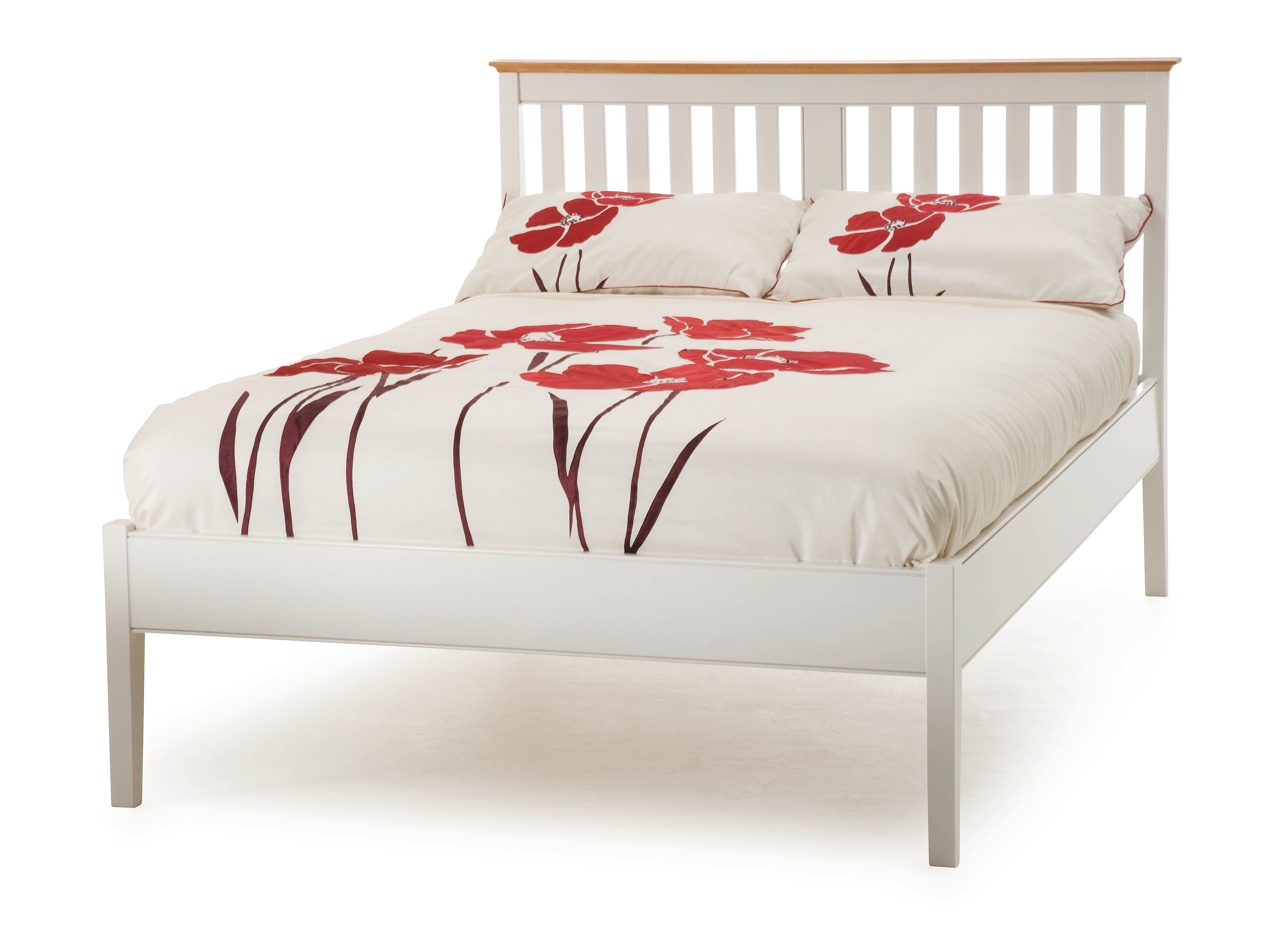 Small Double Bed Frame With Headboard