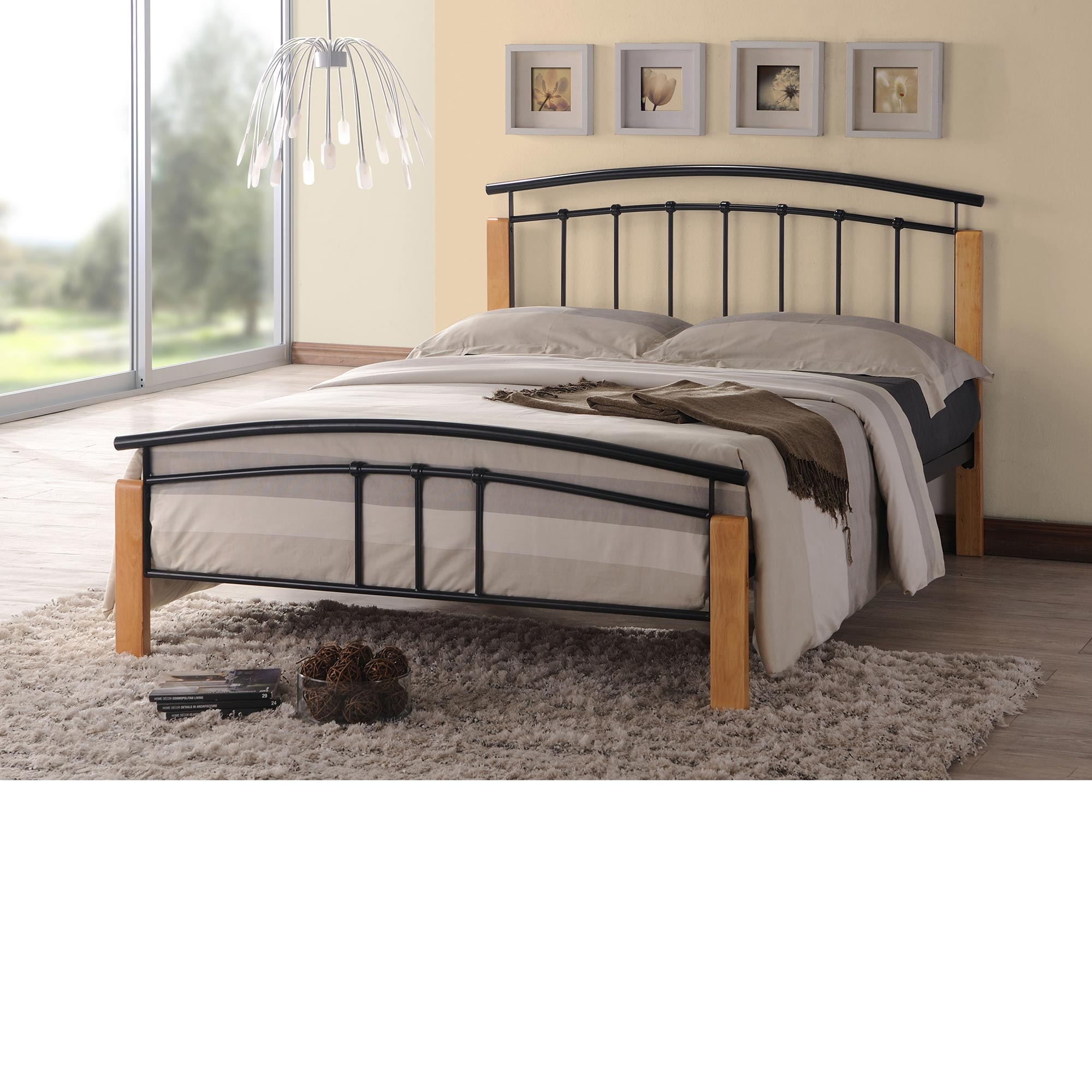Stainless Steel Queen Bed Frame