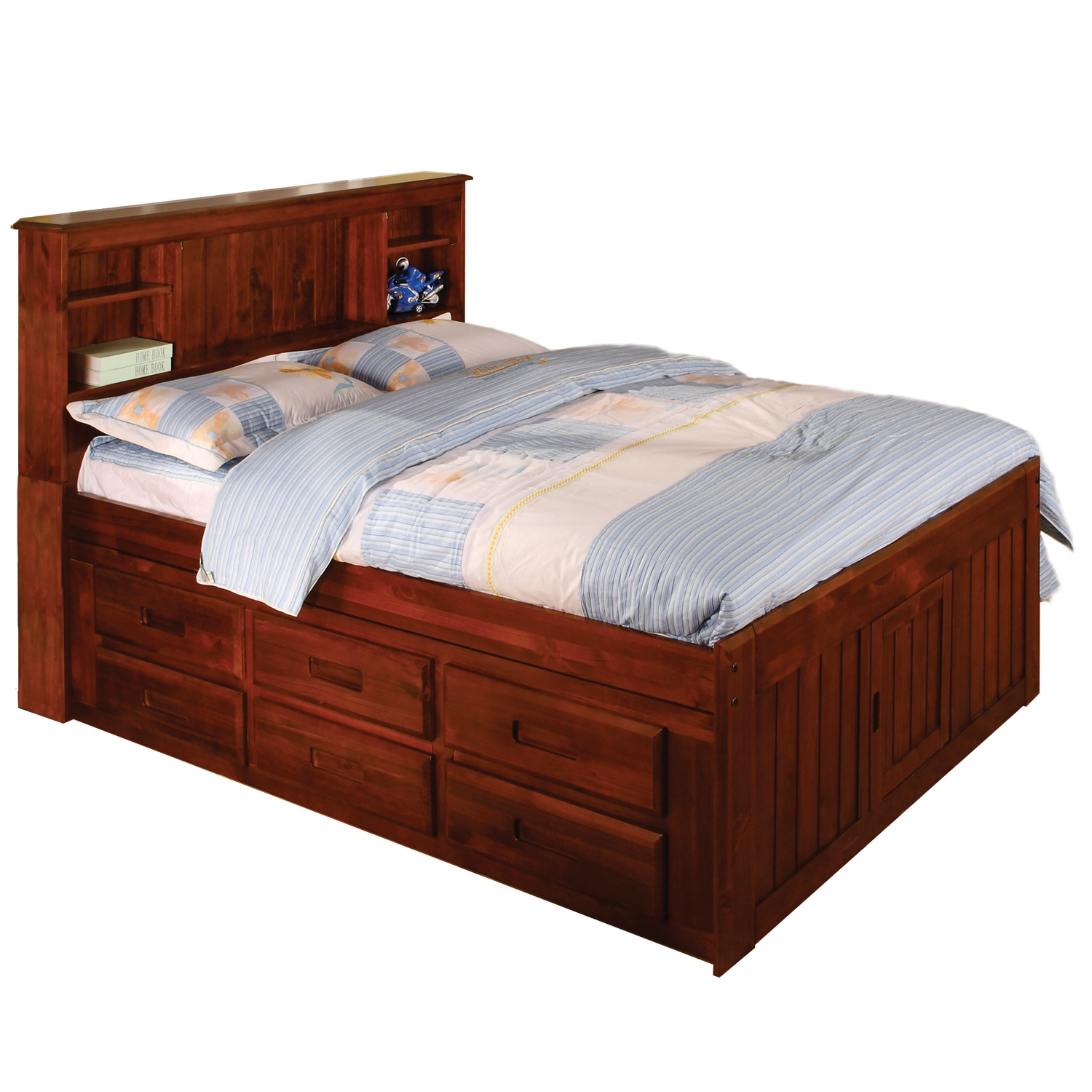 Twin Bed Frame With Drawers Underneath