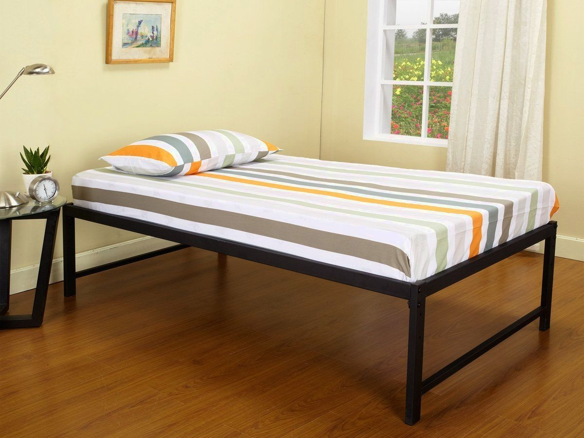 Twin Bed Frame With Tall Legs