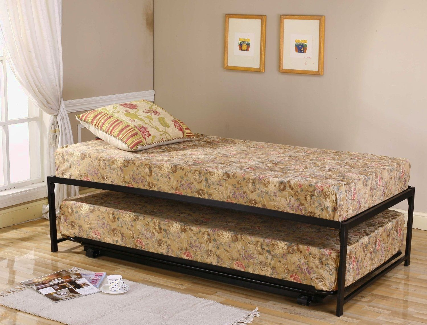 Twin Bed Frame With Trundle Plans