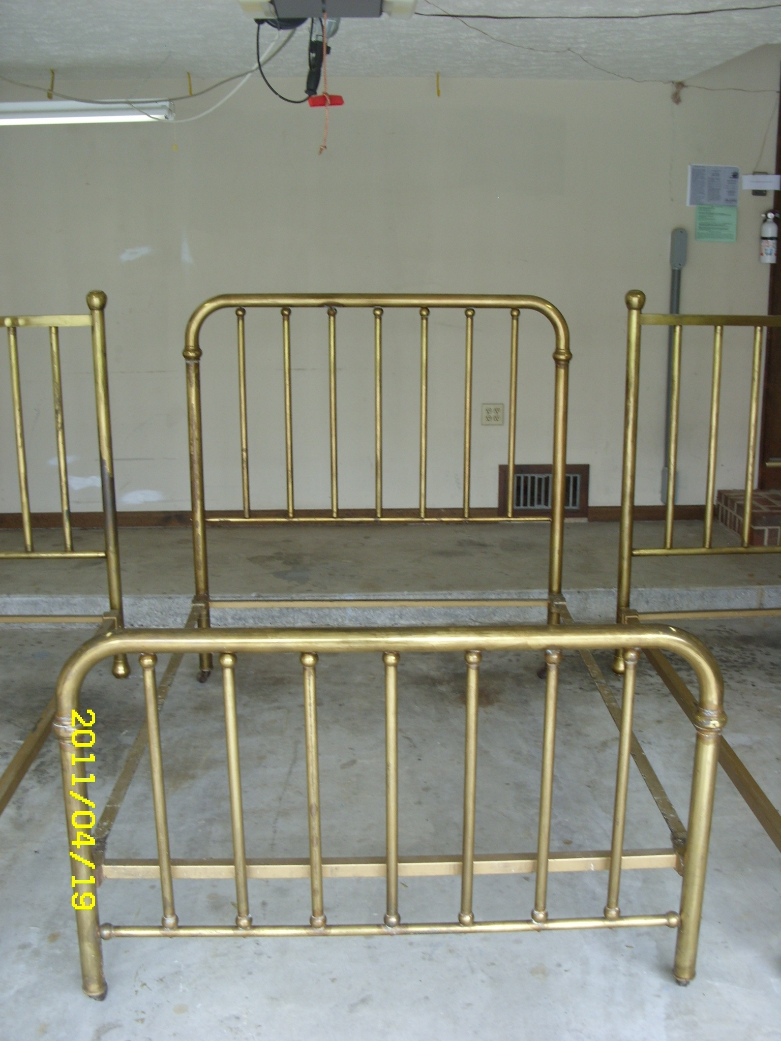 Twin Brass Bed Frame