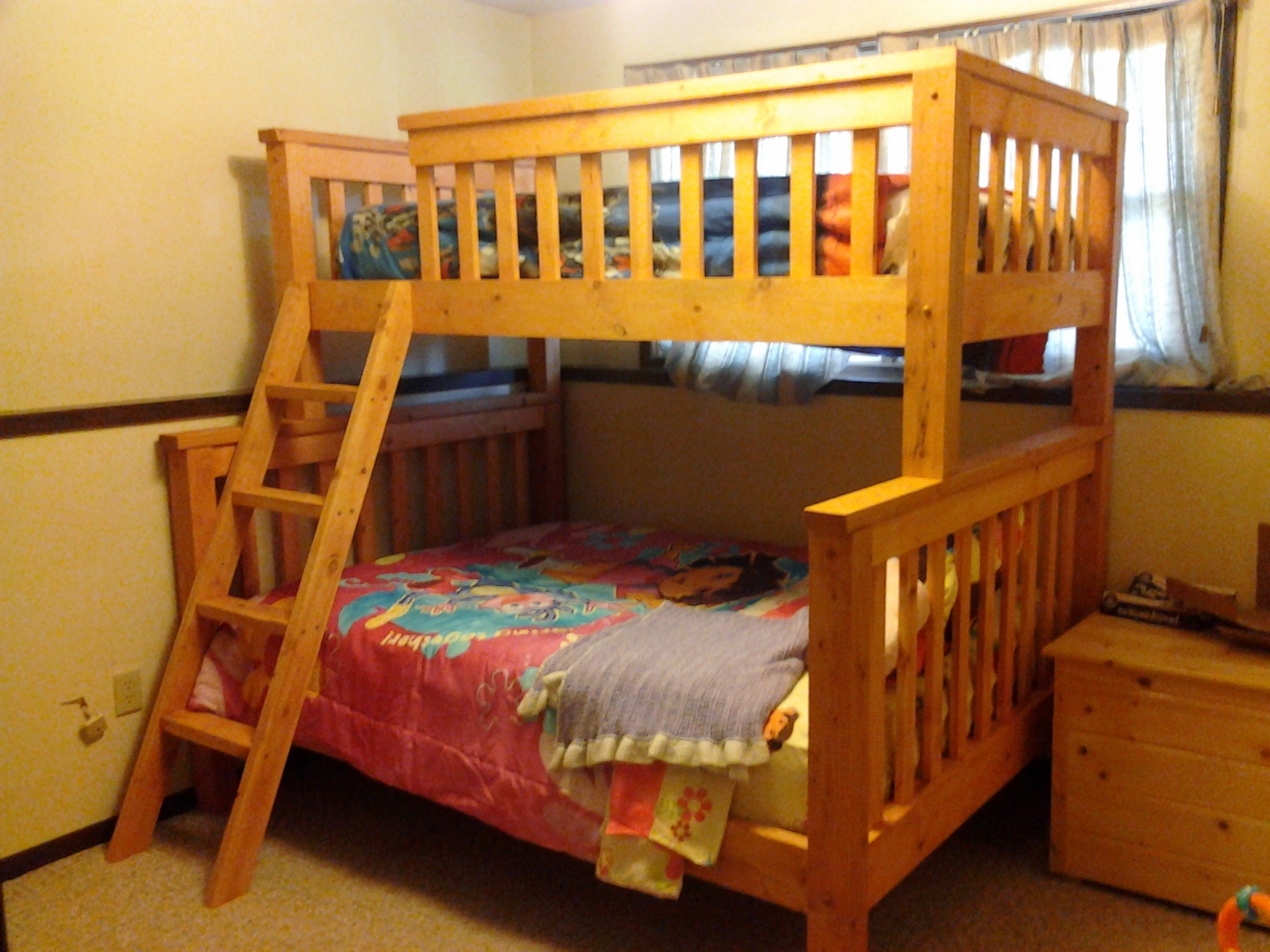 Twin Bunk Bed Frame Plans