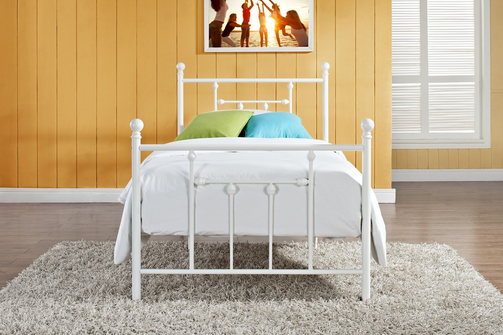 White Bed Frames Twin