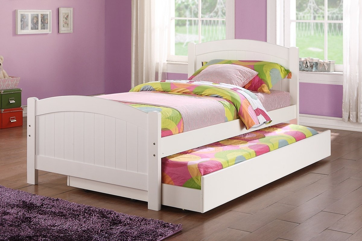 White Twin Bed Frame Woodbed frame white wood twin bed frame bed furniture