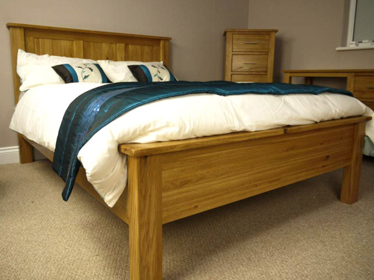 Permalink to Wooden King Size Bed Frames