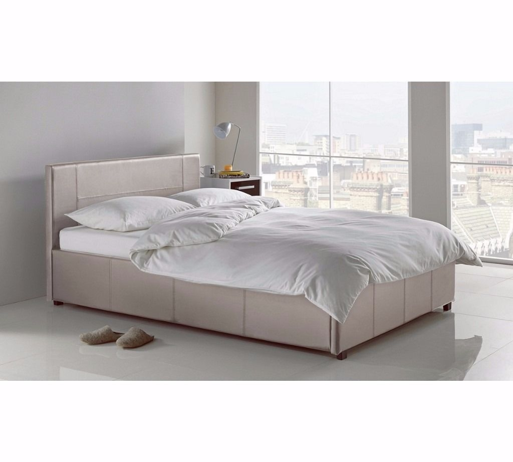 4 Foot Bed Frame With Storagenew small double otto bed frame 4 foot side lifts for storage