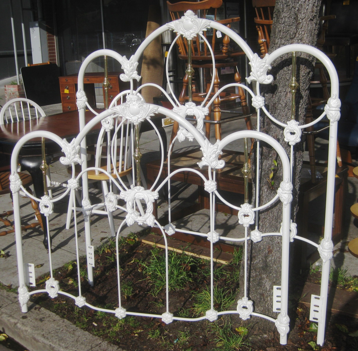 Permalink to Antique Wrought Iron Bed Frame Queen