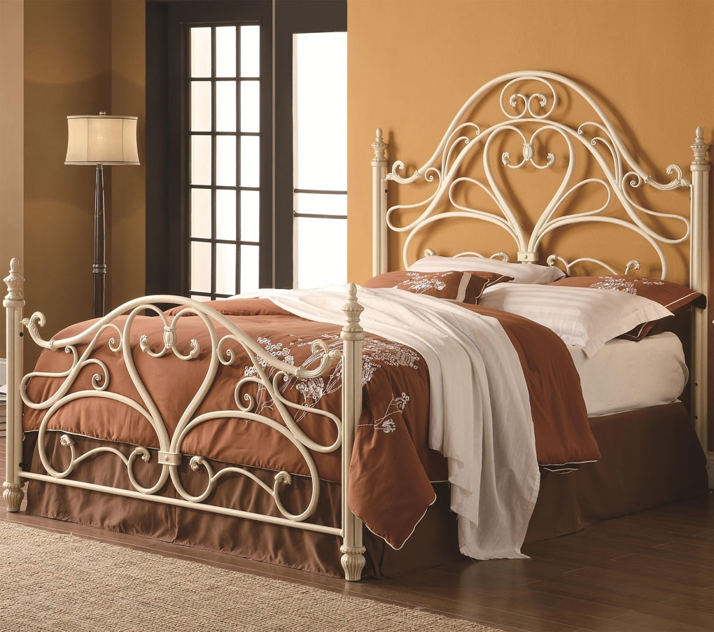 Bed Frame With Hooks For Headboard And Footboard