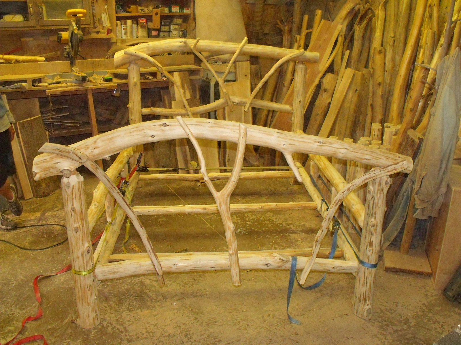 Cedar Post Bed Frame