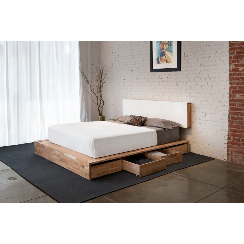 Contemporary Bed Frames With Storage