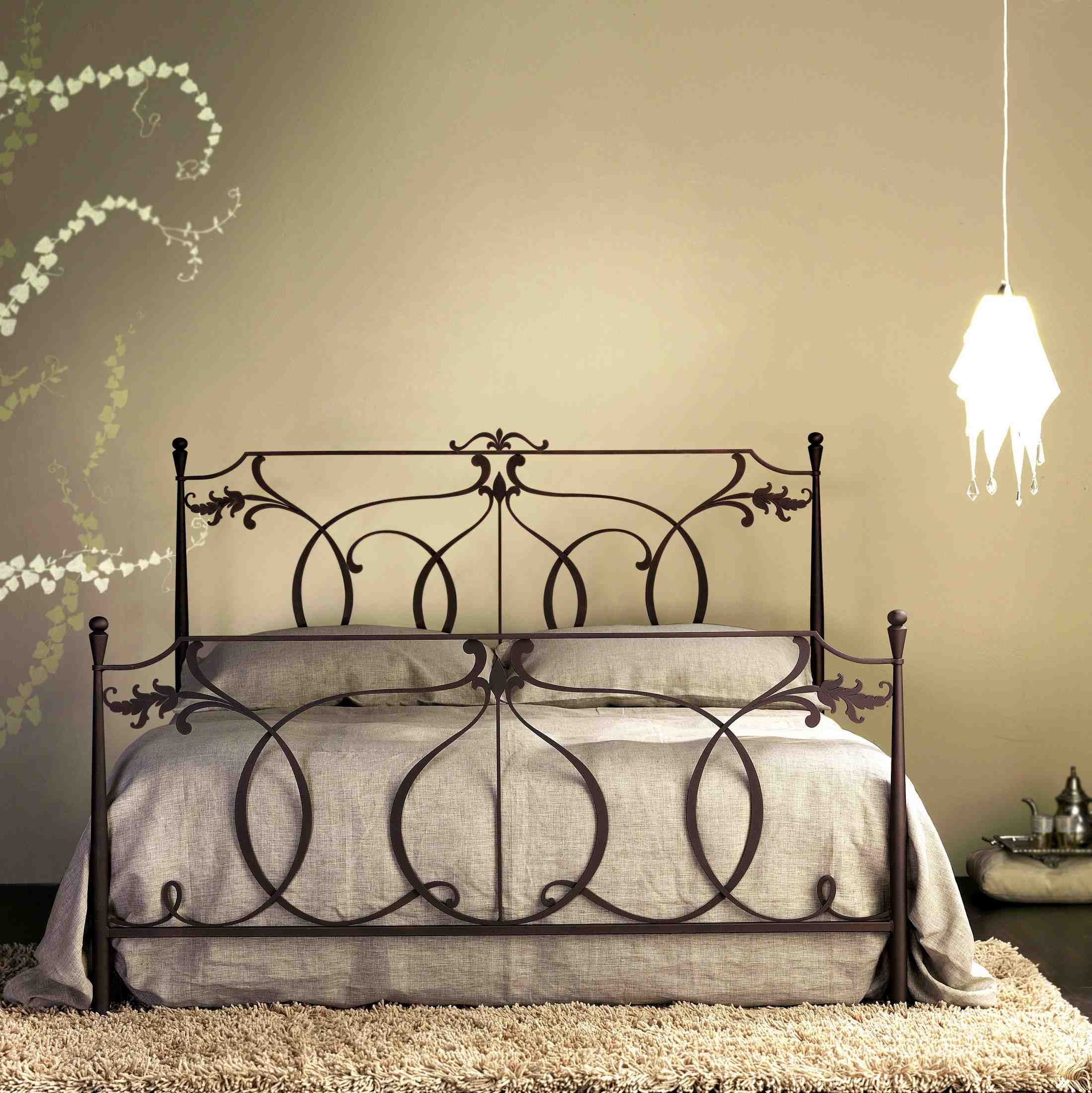 Custom Wrought Iron Bed Frames