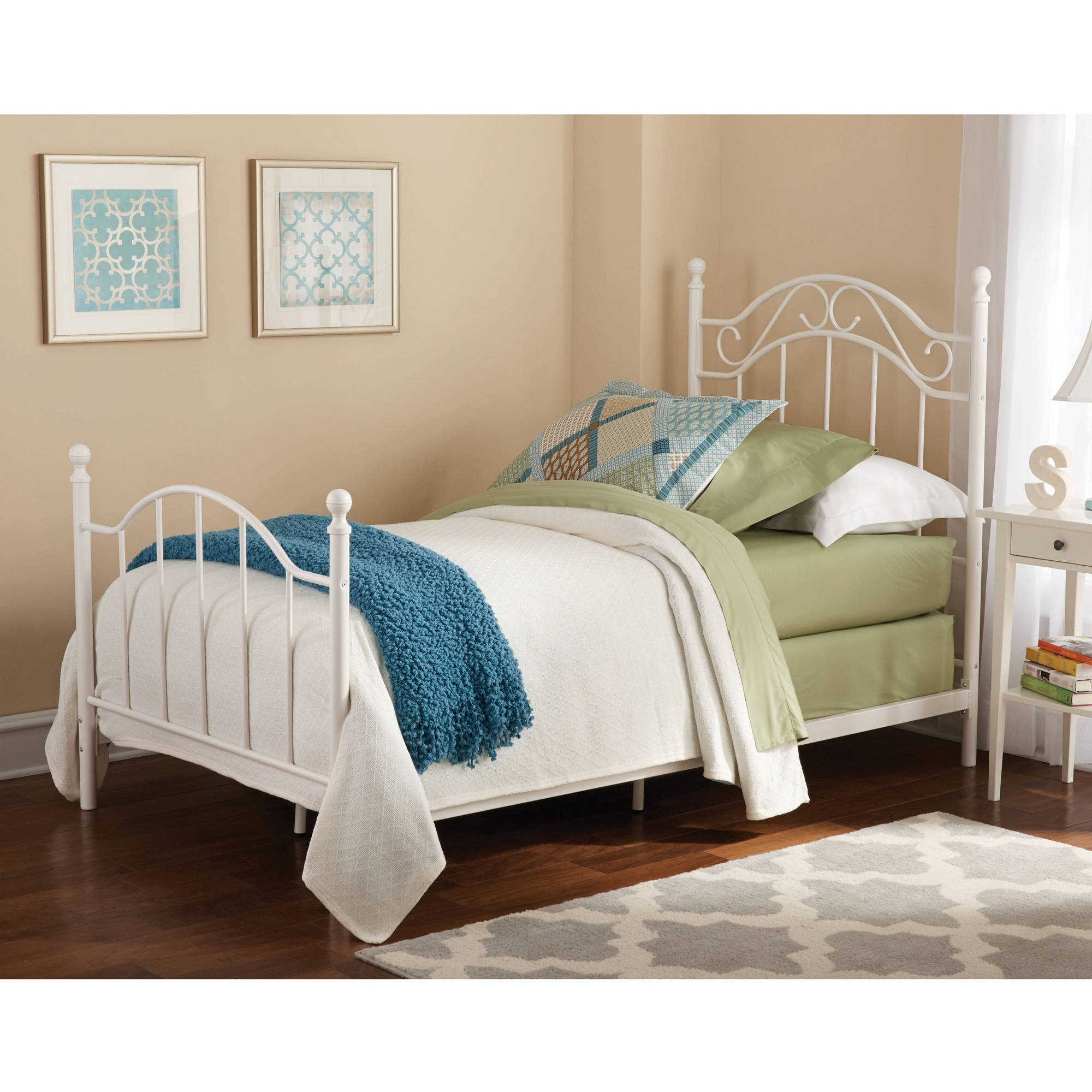 Iron Bed Frames Twin Sizemainstays twin metal bed walmart