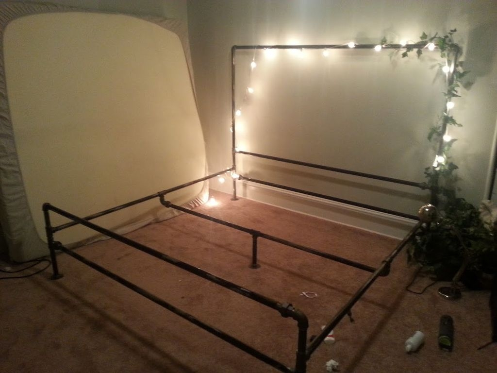 Iron Pipe Bed Frame