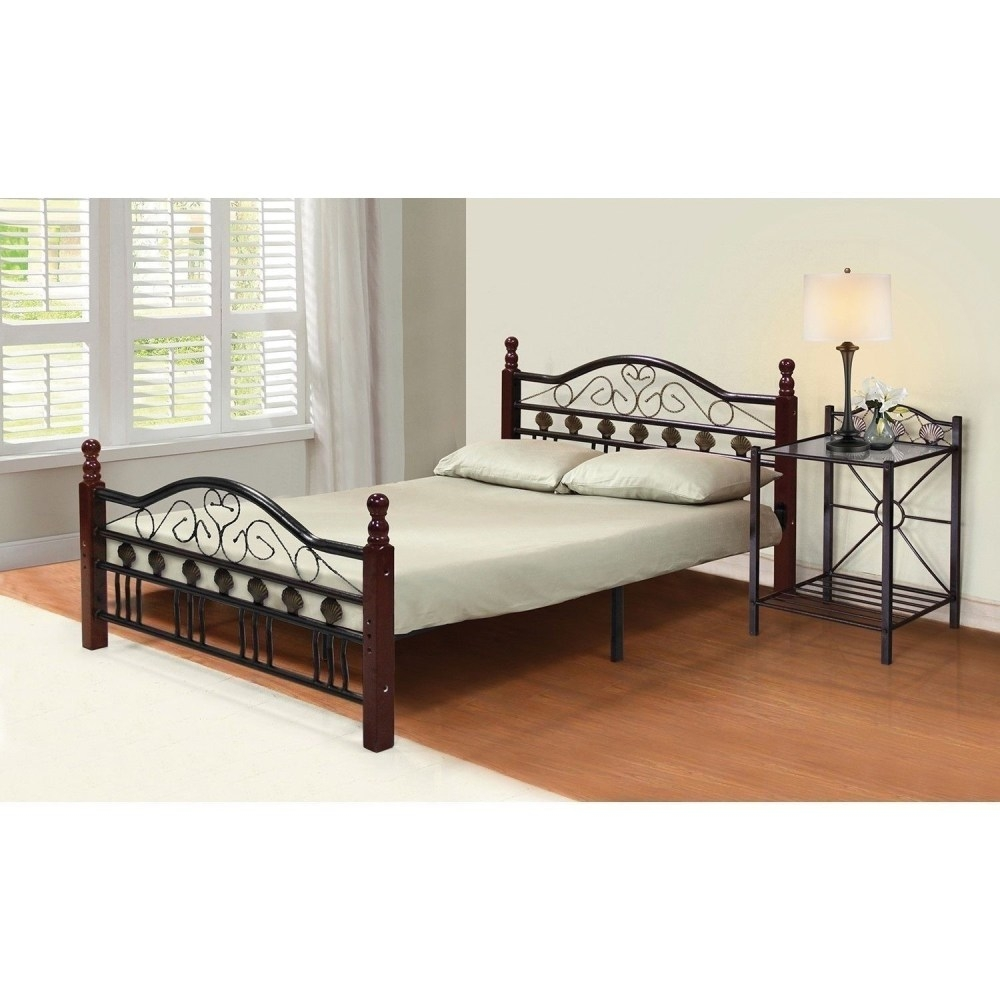 Permalink to Metal Bed Frame With Headboard And Footboard Brackets