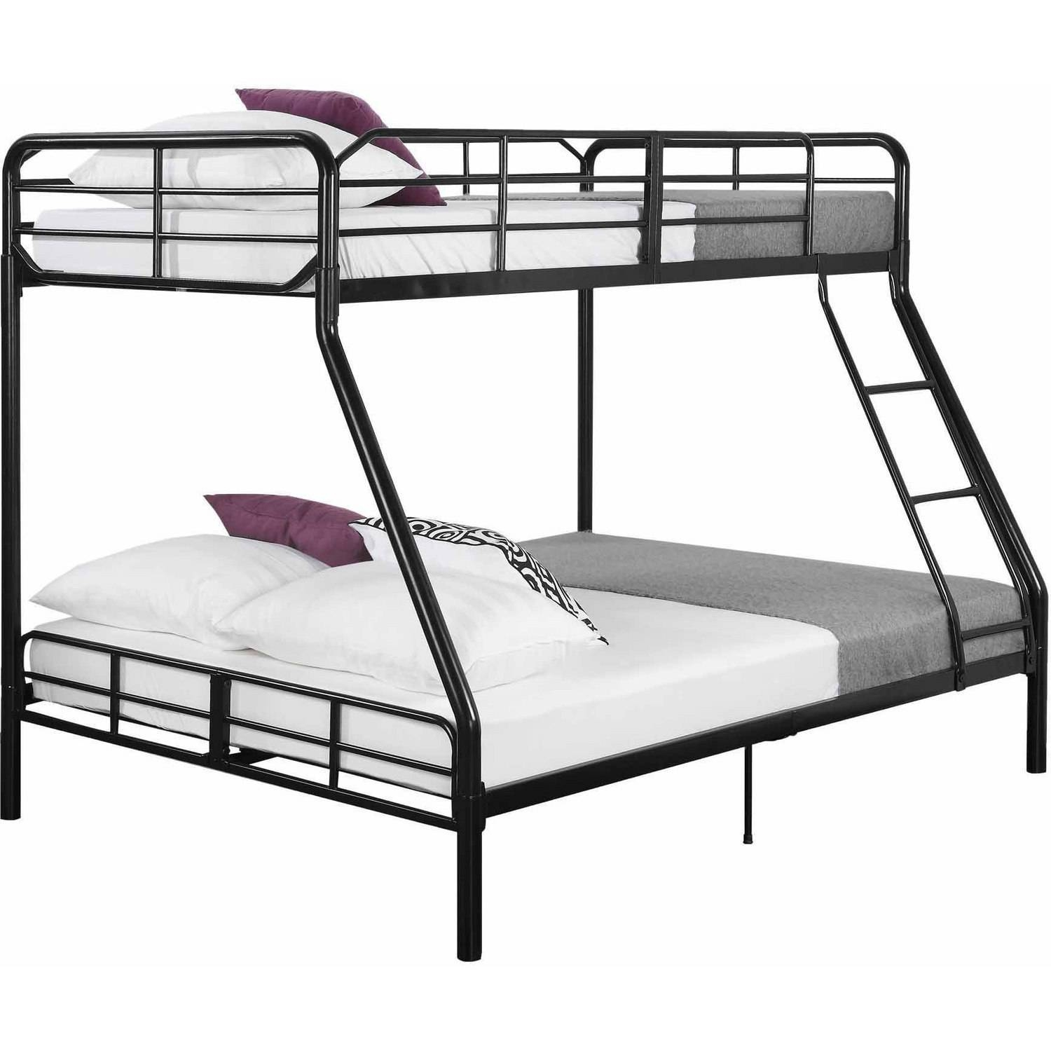 Metal Frame Bunk Beds Twin Over Fullmainstays twin over full bunk bed walmart