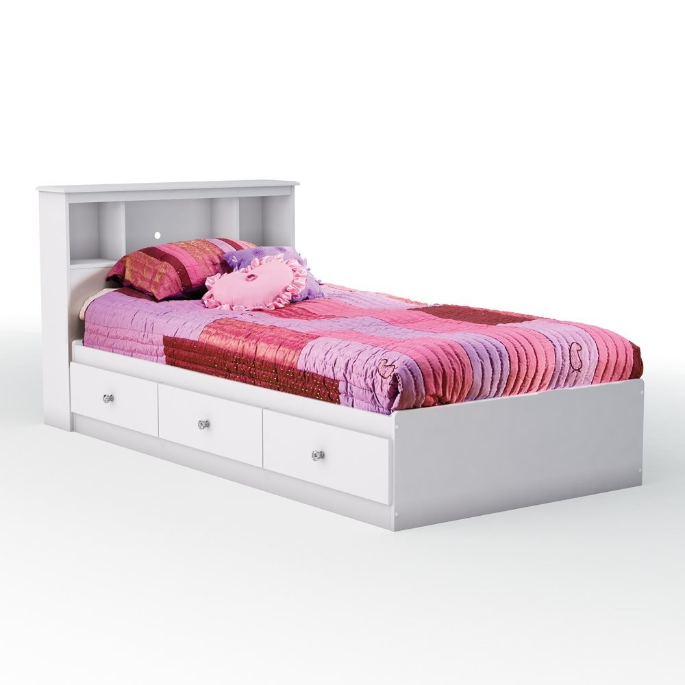 Metal Twin Bed Frame With Storage