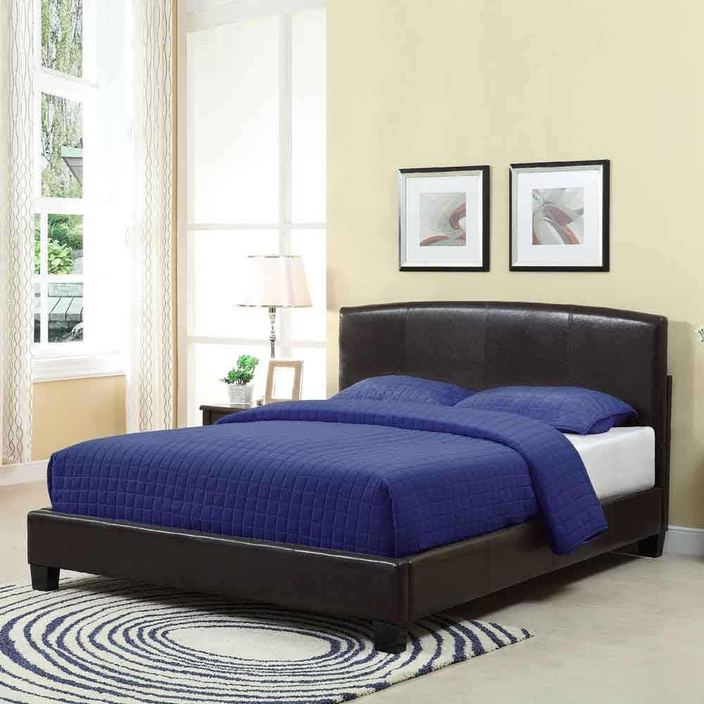 Navy Blue King Bed Frame