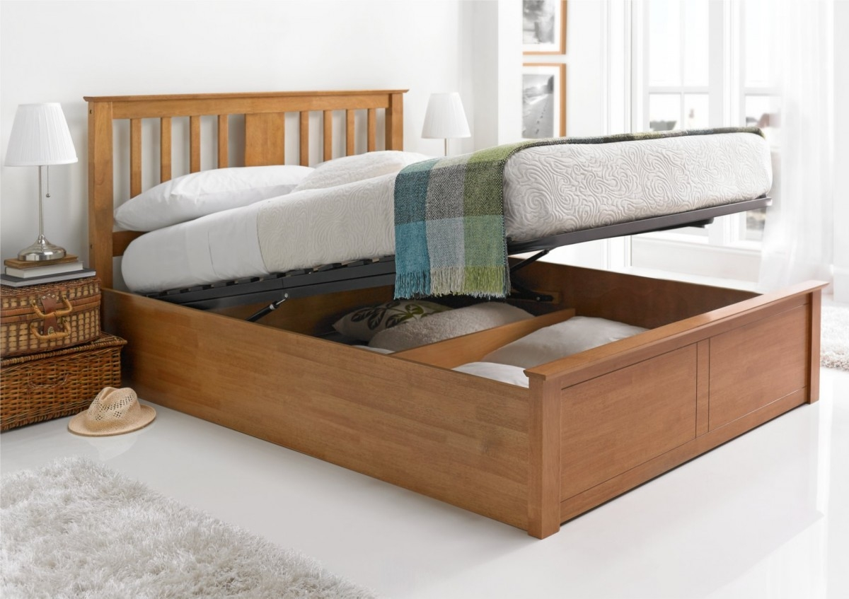 Ottoman Wooden Bed Frame