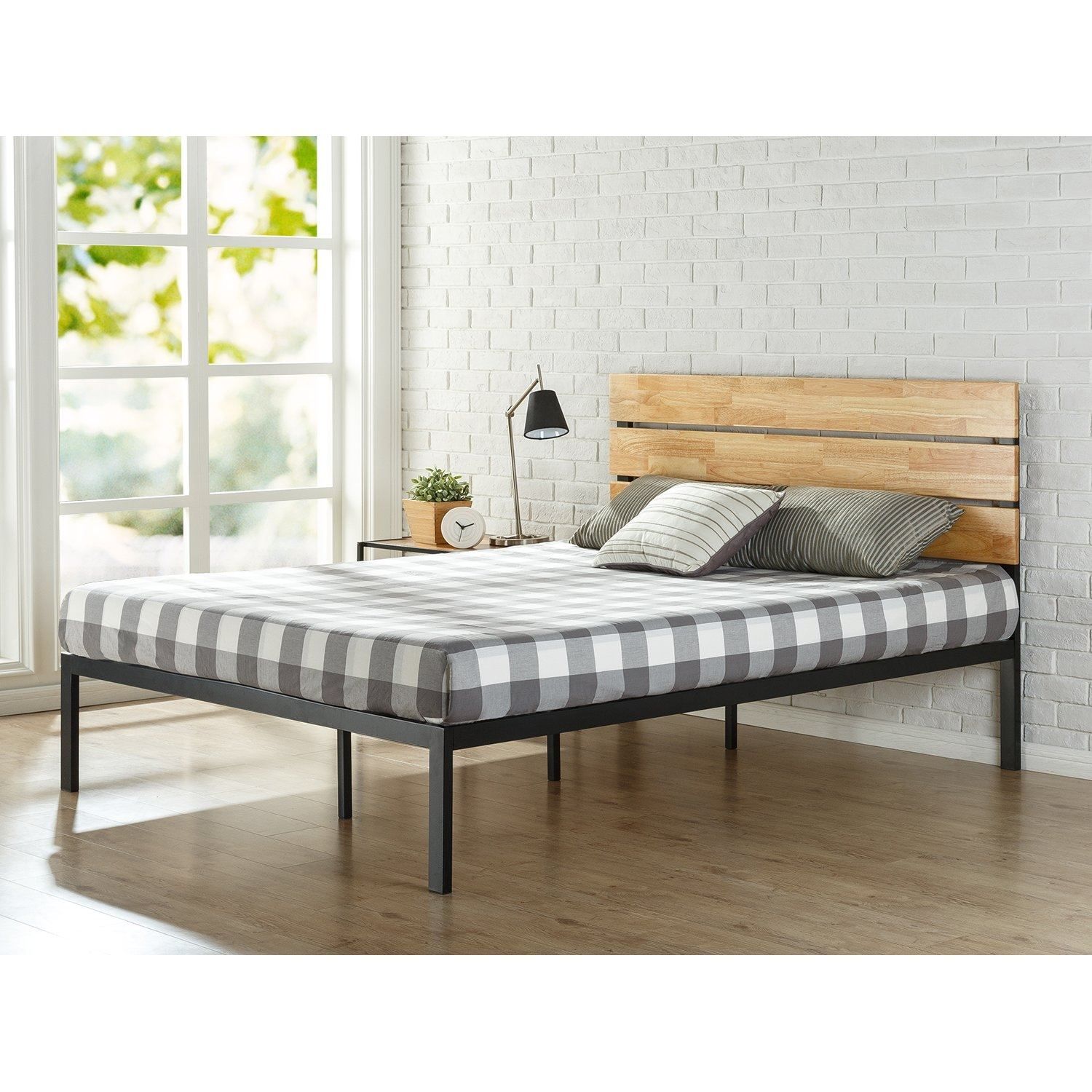 Platform Bed Frame For Latex Mattresszinus sonoma metalwood platform bed reviews wayfair