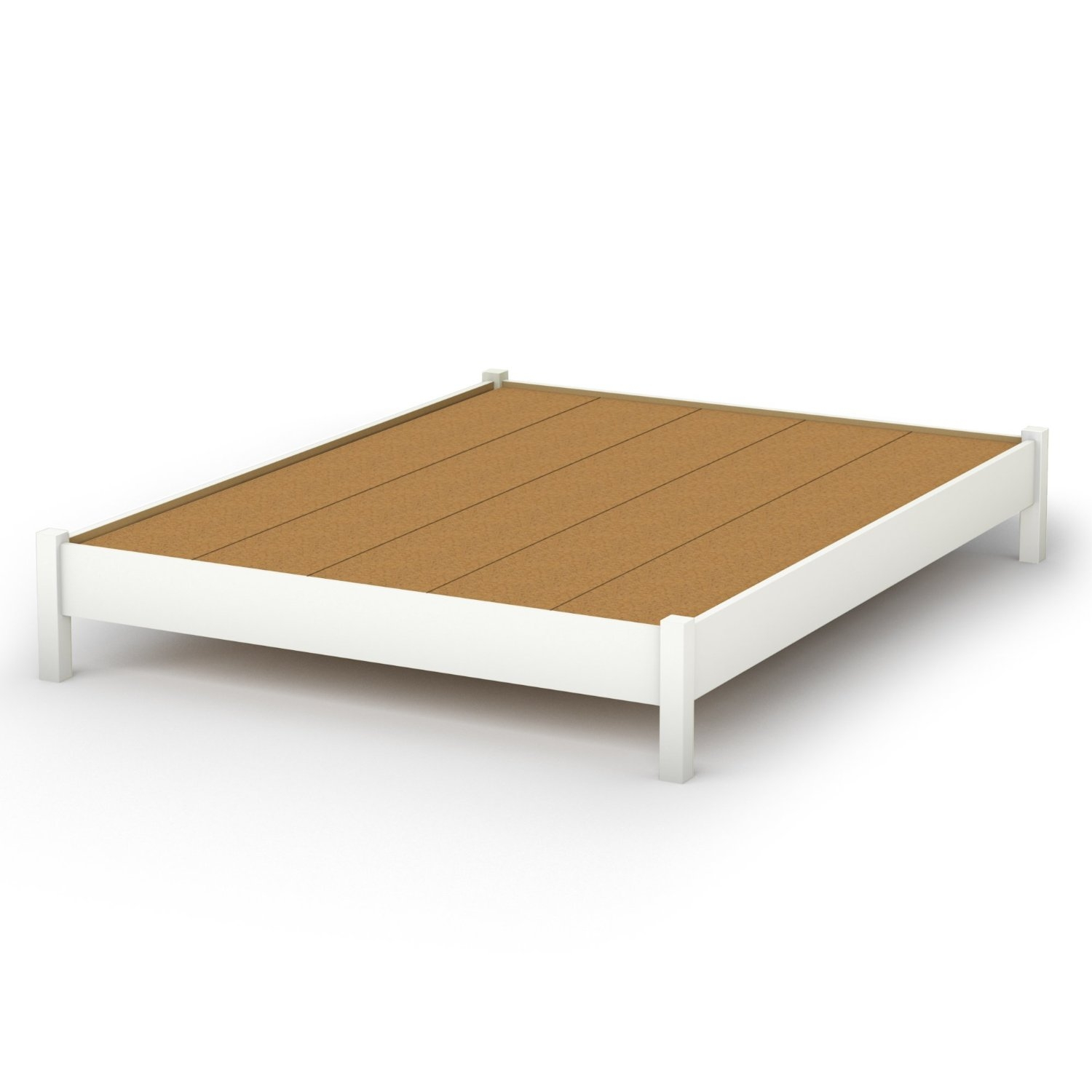 Queen Platform Bed Frame No Headboard