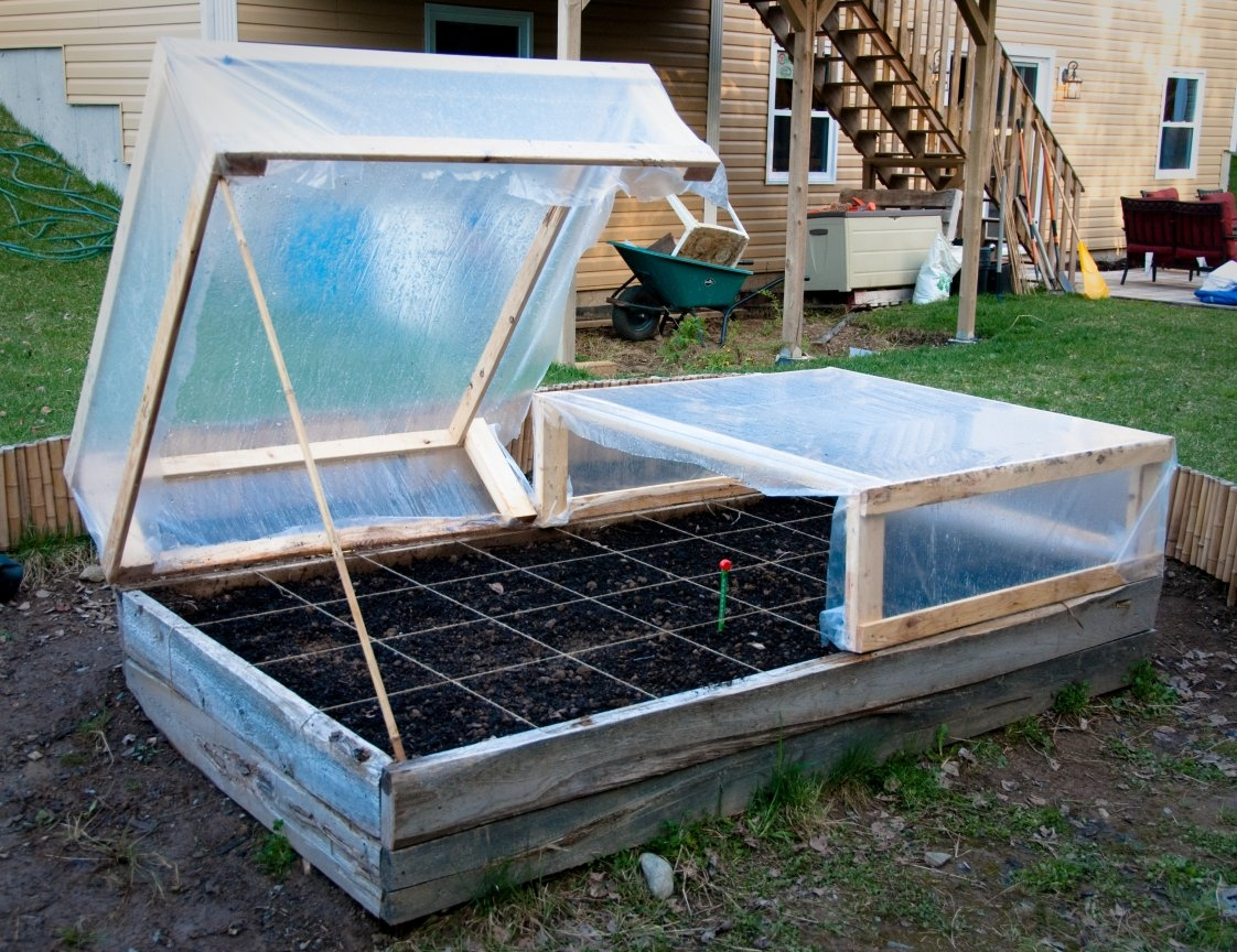 Permalink to Raised Garden Bed Frame Construction