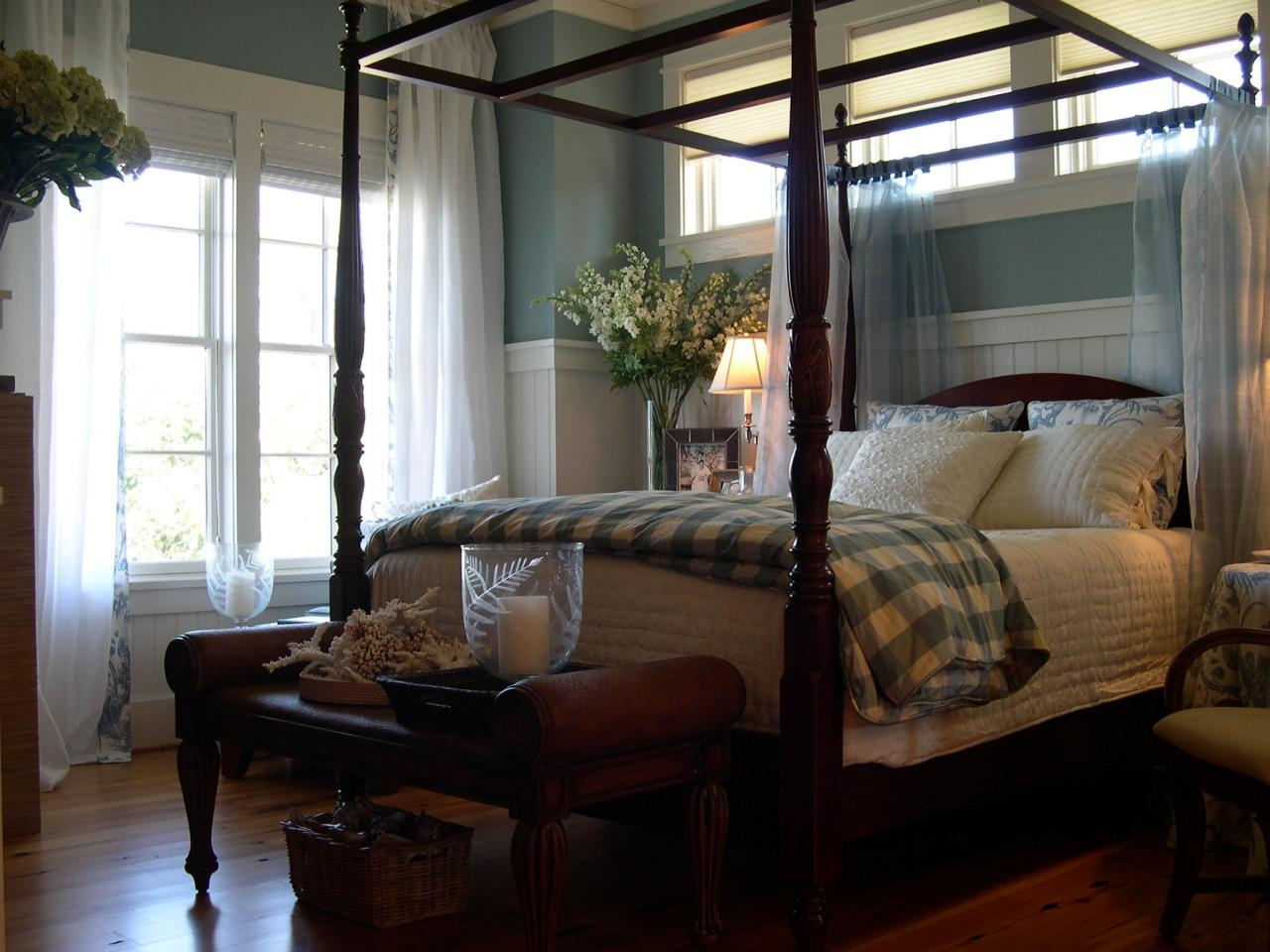 Rice Bed Canopy Frame