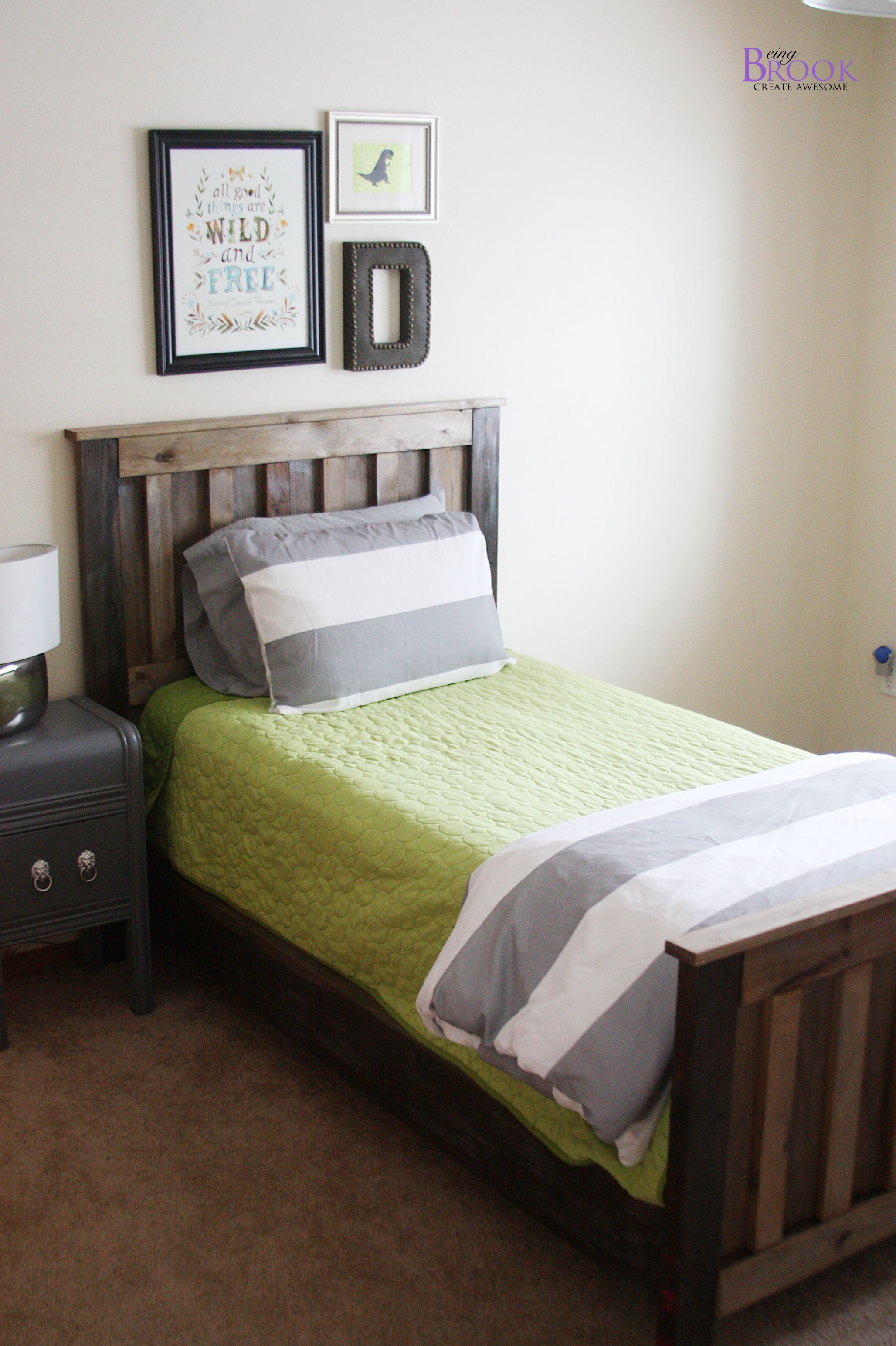 Rustic Twin Bed Frames2056 X 3088