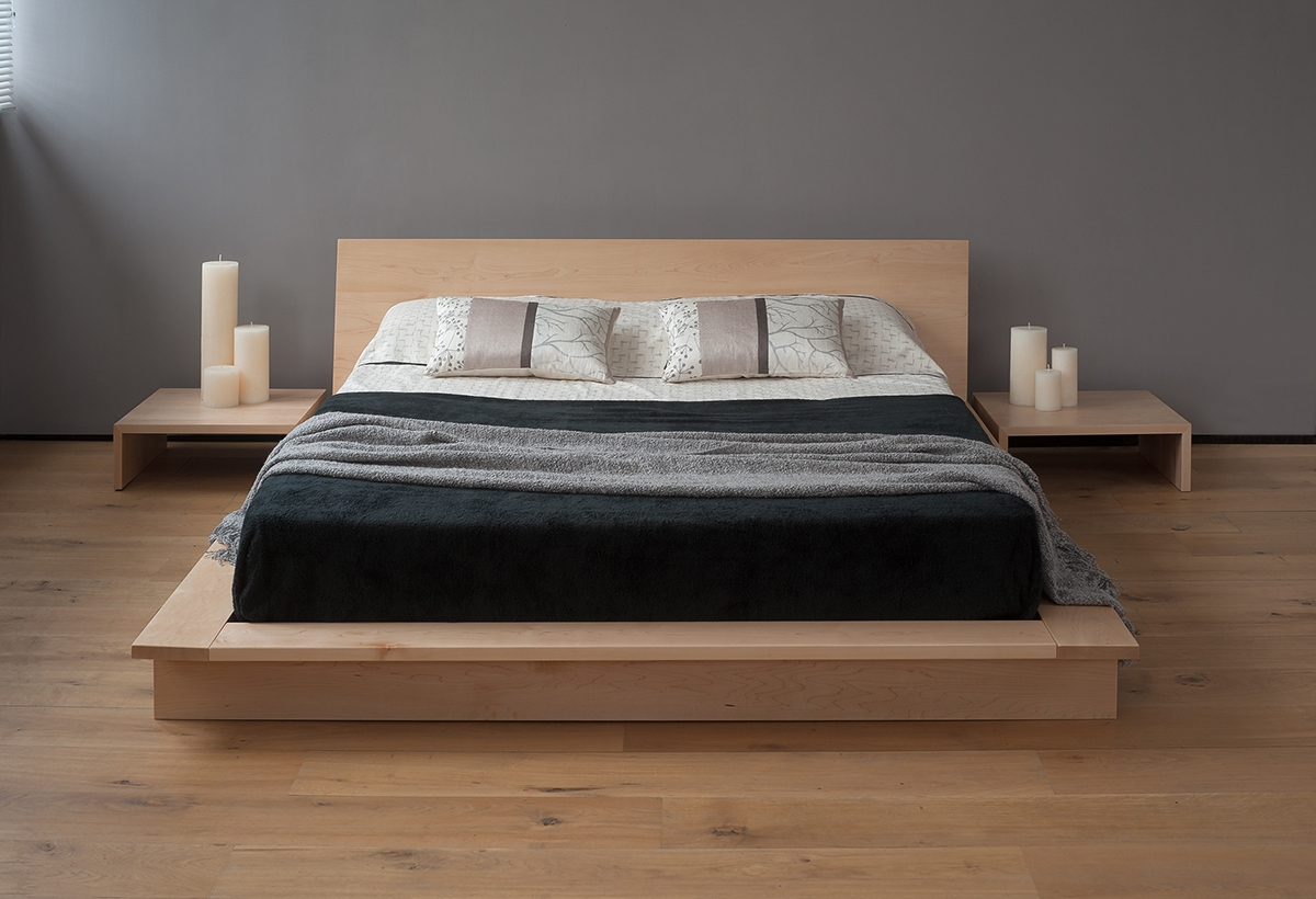 Simple Low Bed Frame