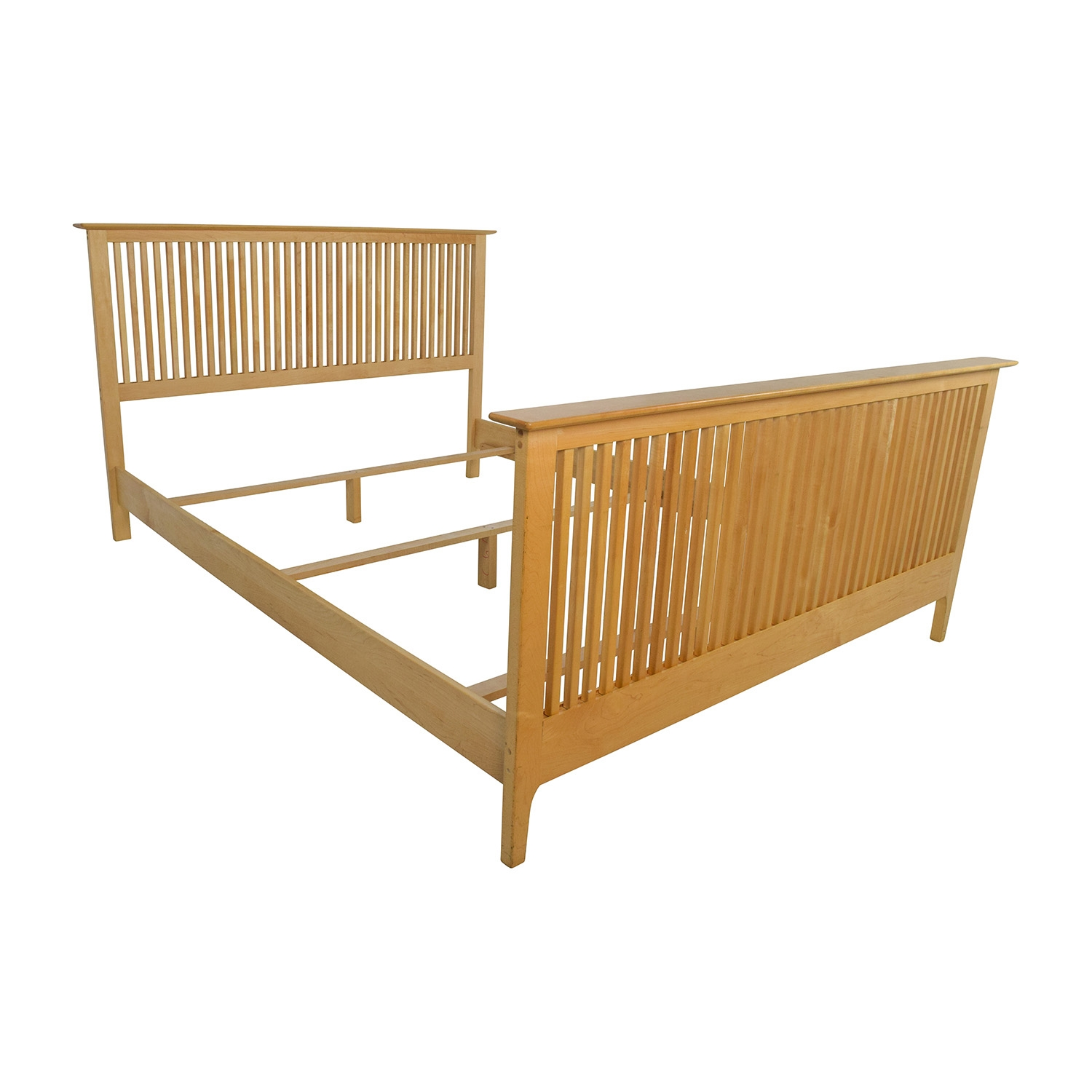 Solid Maple Queen Bed Frame