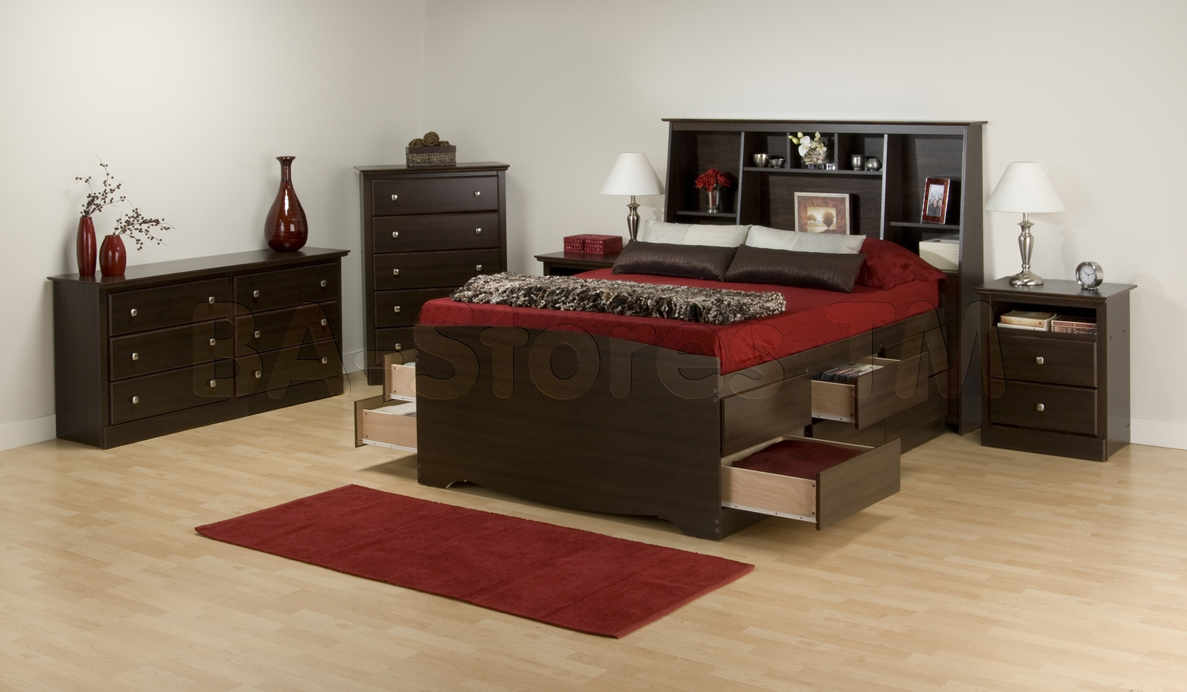 Tall Double Bed Frame