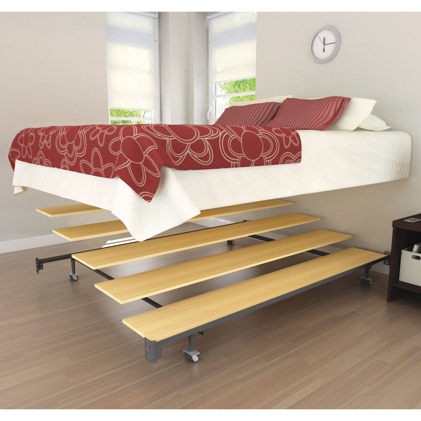 Tall Full Size Metal Bed Frame