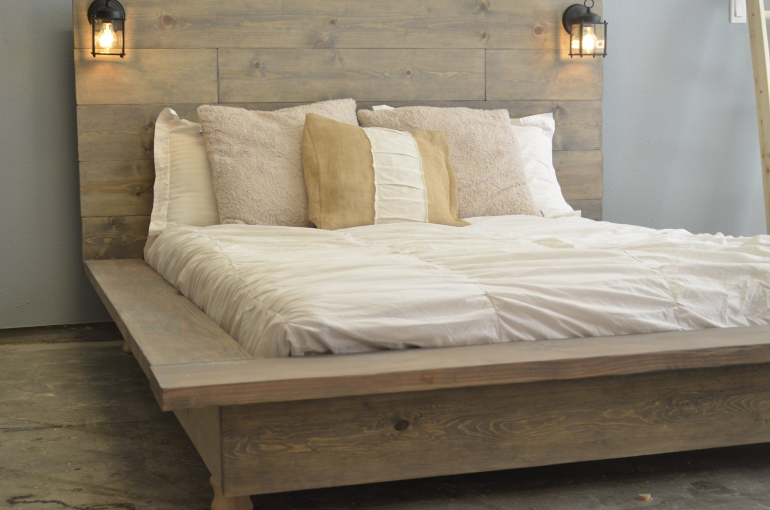 Tall Wooden Bed Frames