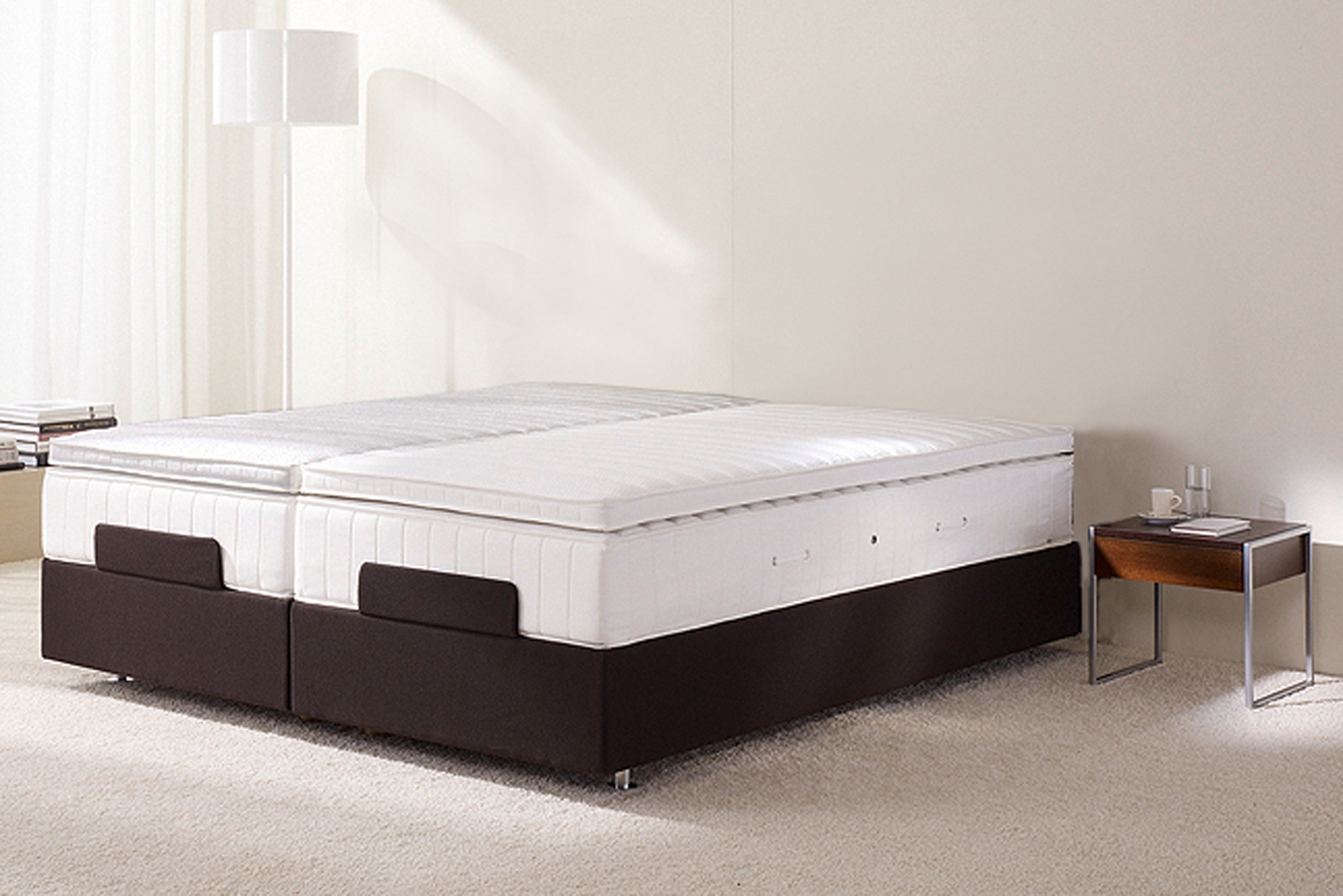 Upholstered Platform Bed Frame No Headboard