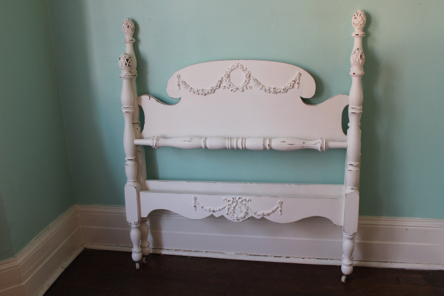 Vintage Wood Twin Bed Framevintage twin bed etsy