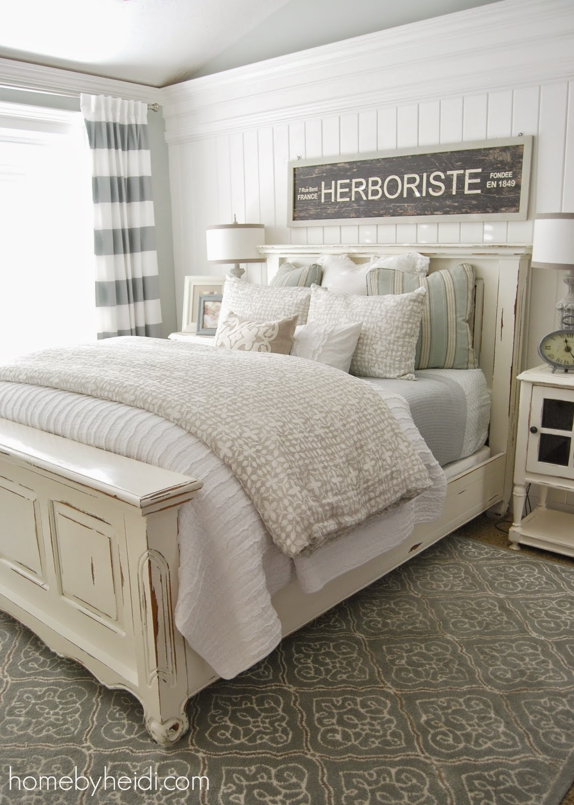 White Quilted Bed Frames