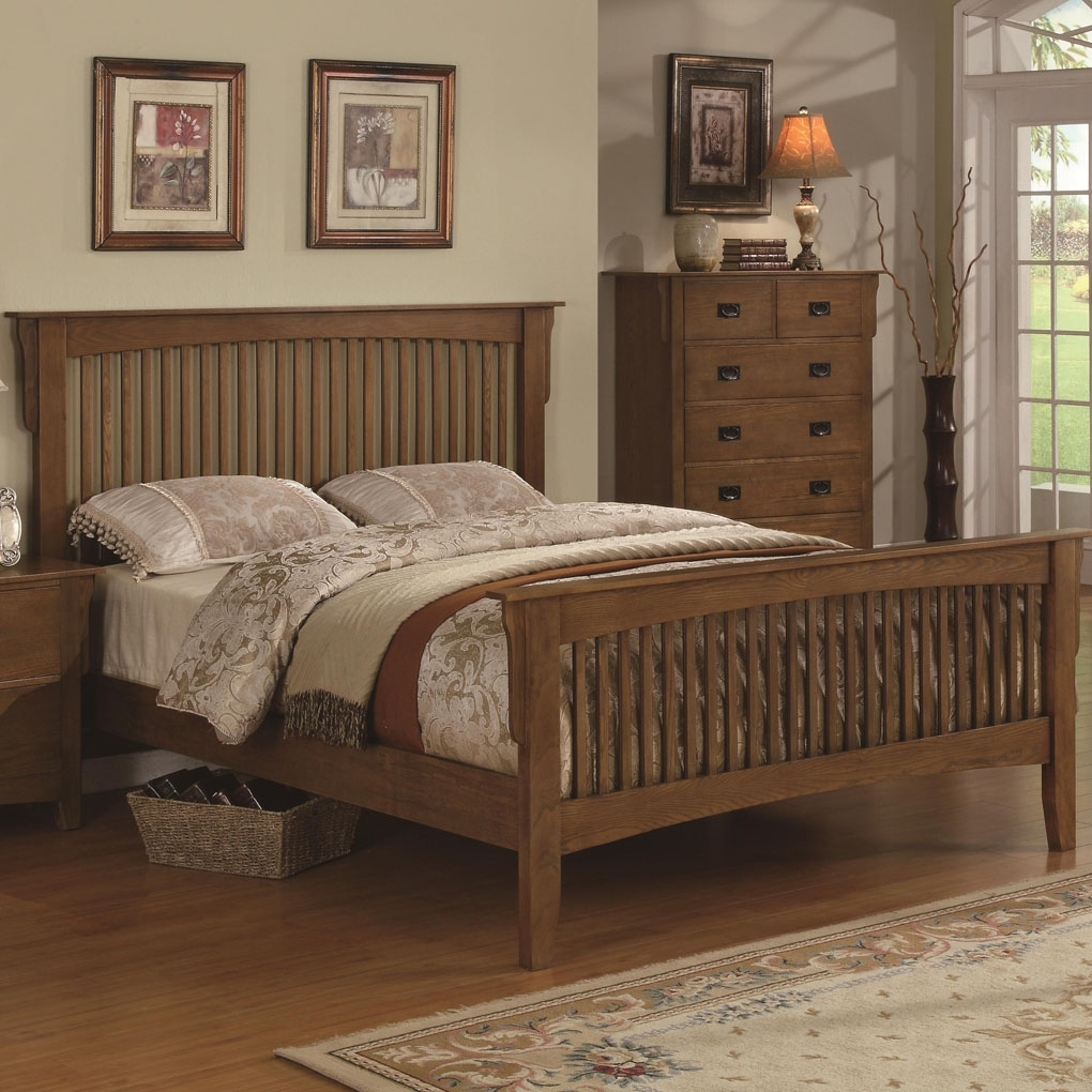 Permalink to Wood Bed Frame Headboard And Footboard