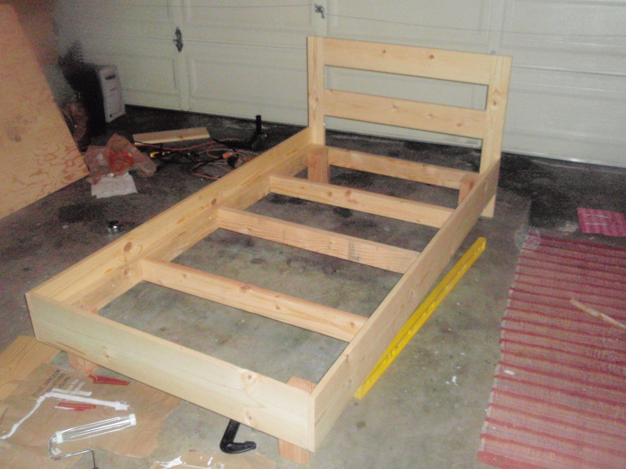 Wooden Twin Bed Frame Plans