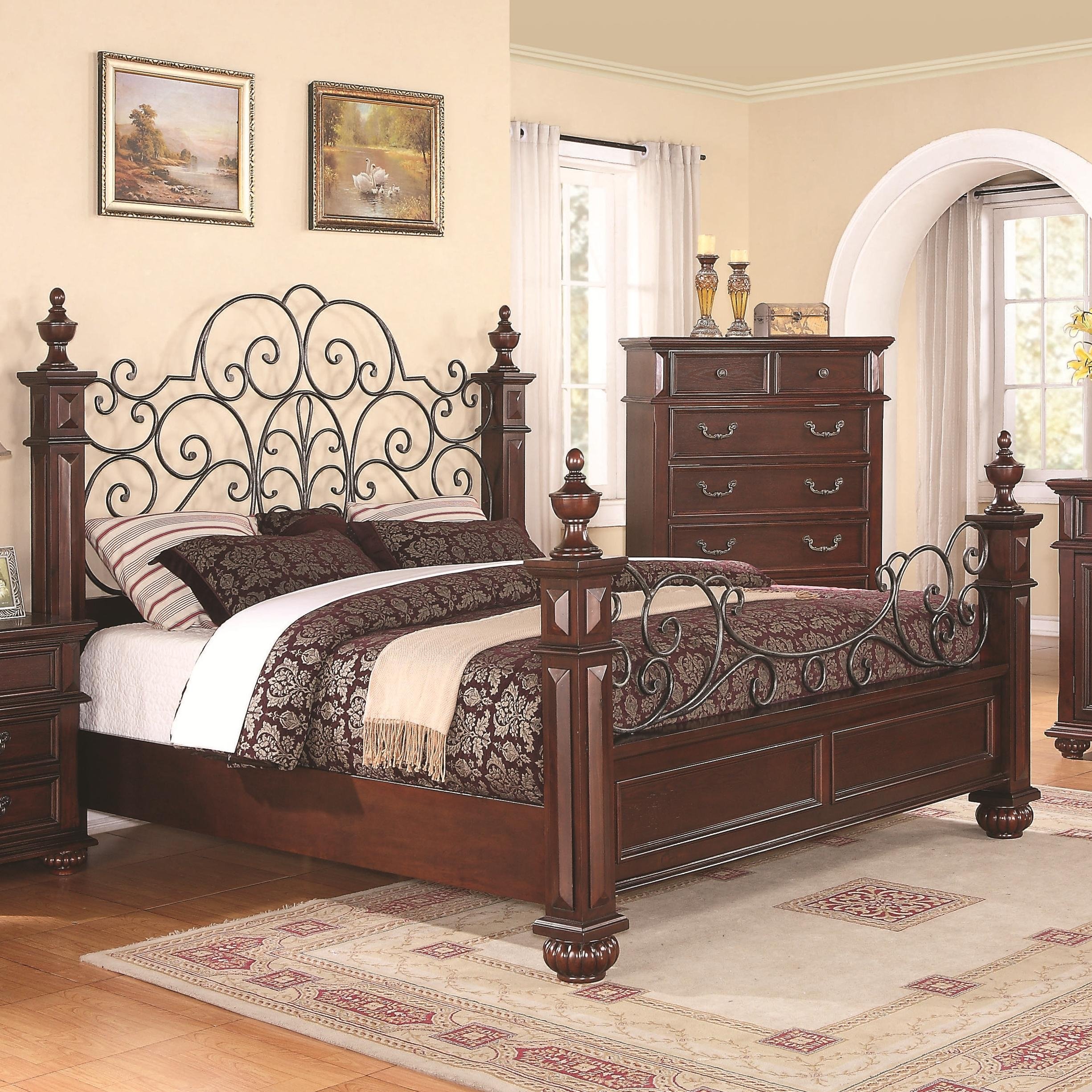 Wrought Iron And Wood Bed Frames