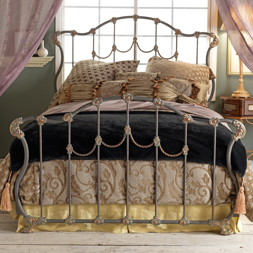 Wrought Iron Full Bed Frame