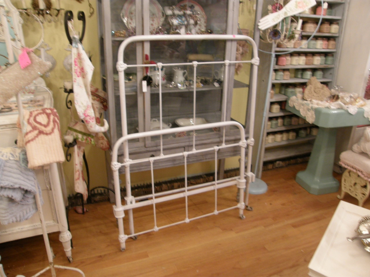Permalink to Antique Wrought Iron Twin Bed Frame