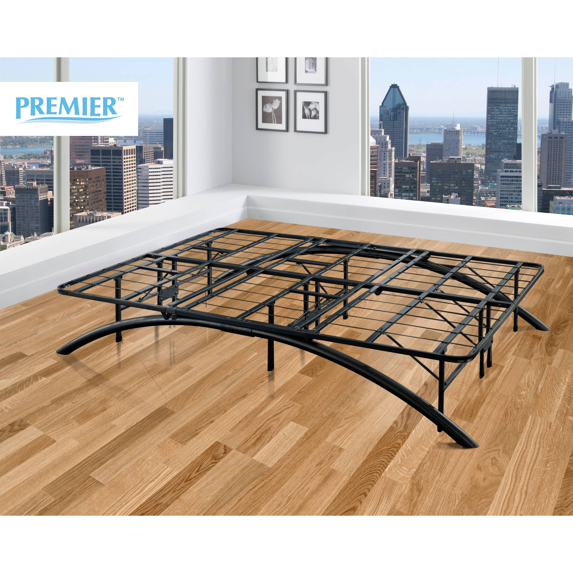 Arch Platform Bed Frame Black