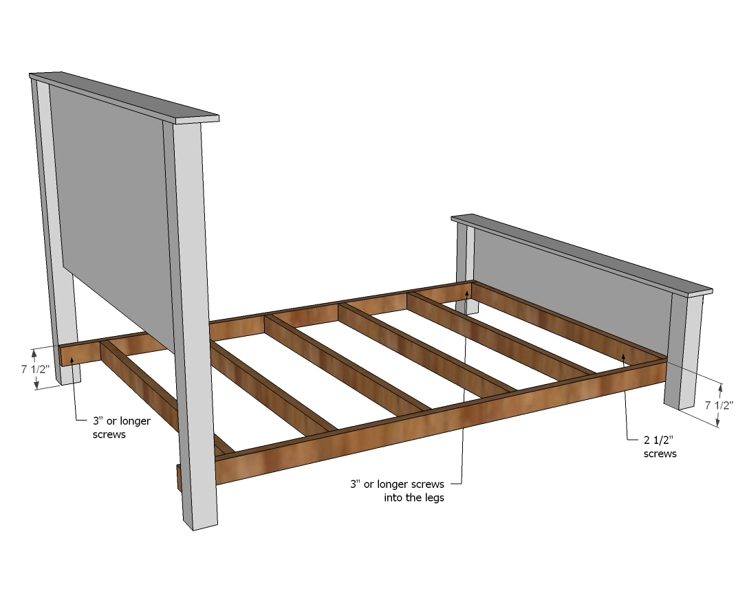 Attach A Headboard To A Bed Frame