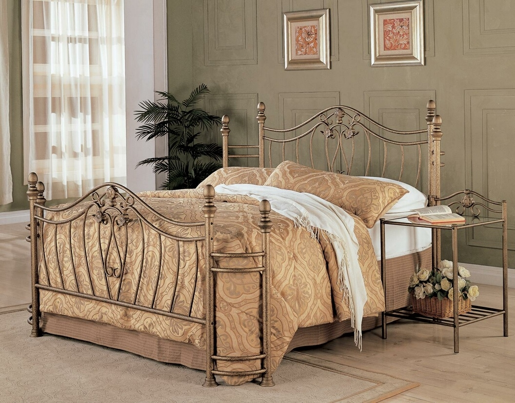 Bed Frame For Antique Headboard And Footboard