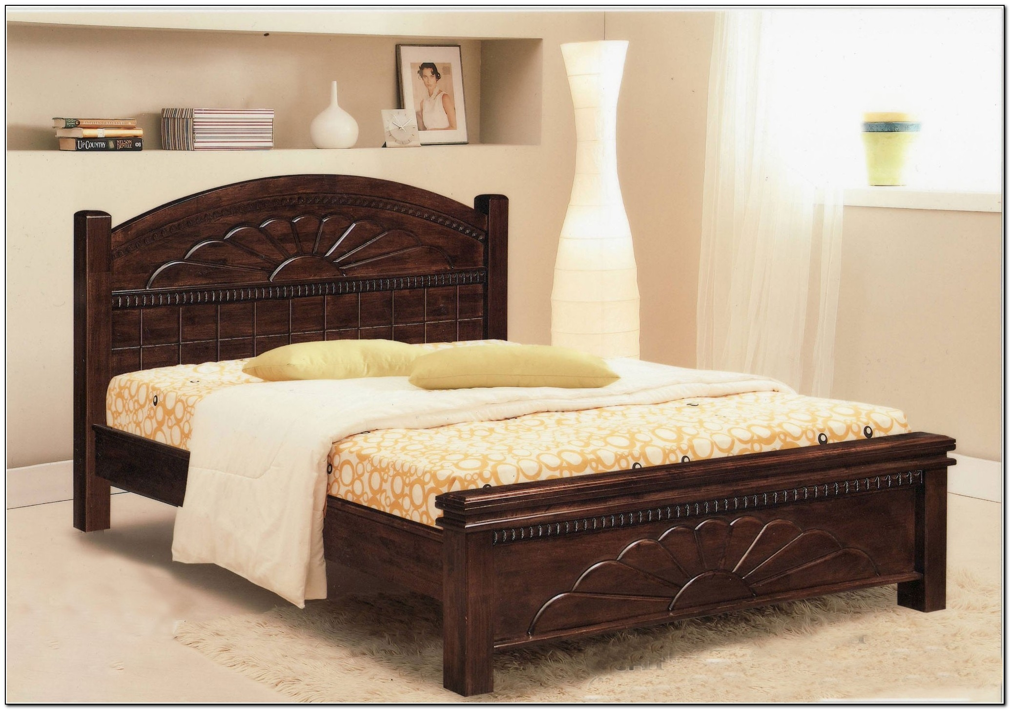 Permalink to Bed Frame Full Size Wood