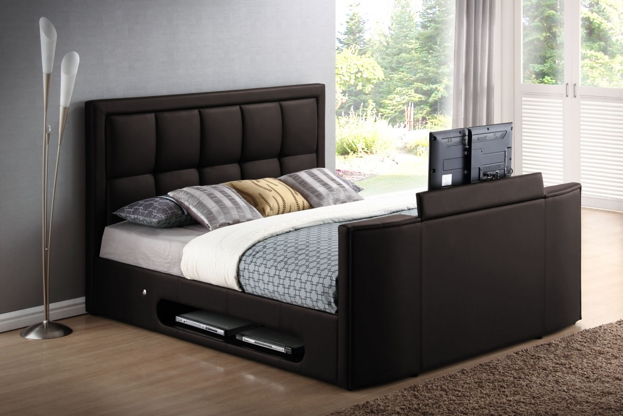 Bed Frame With Tv Lift