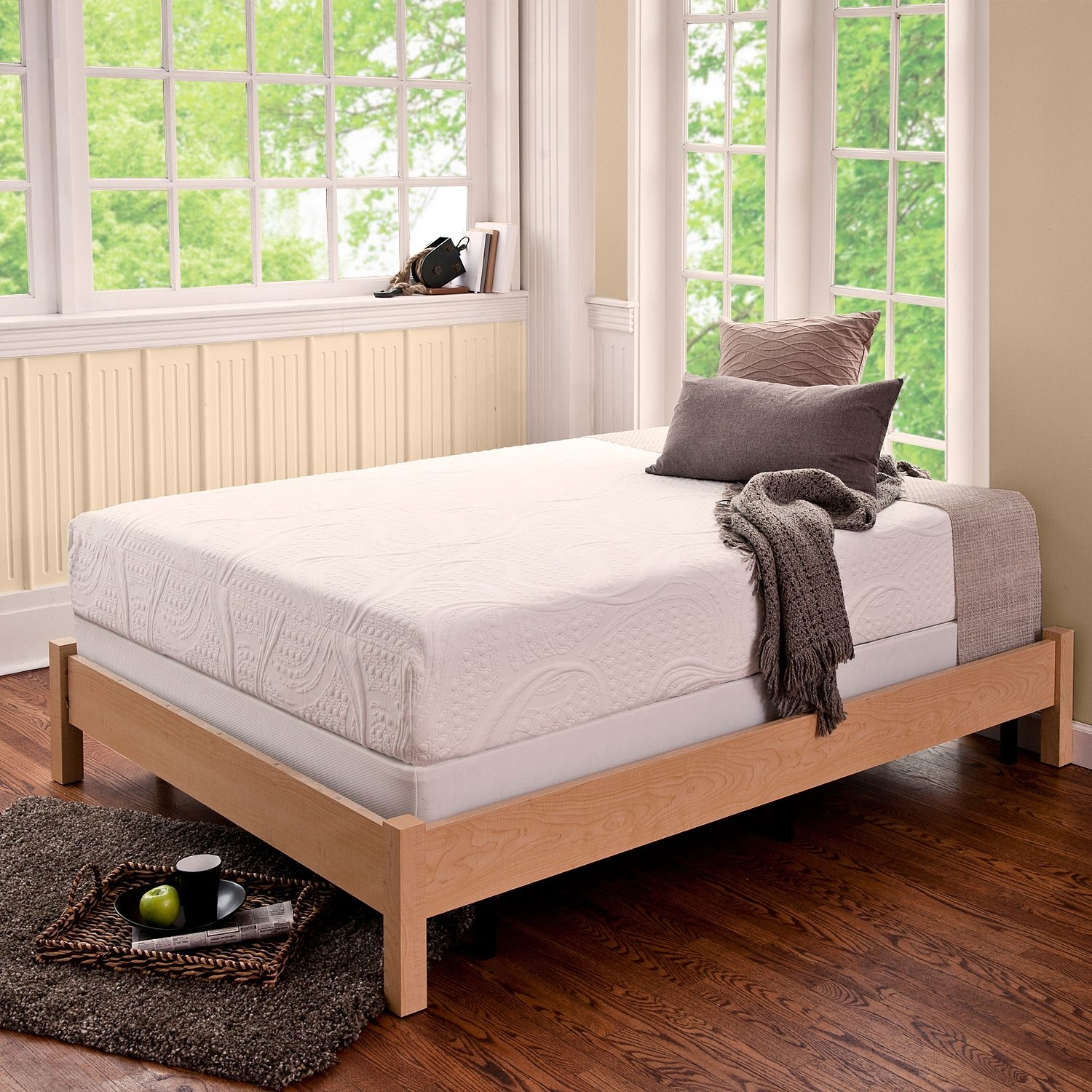 Permalink to Bed Frames For Boxspring And Mattress