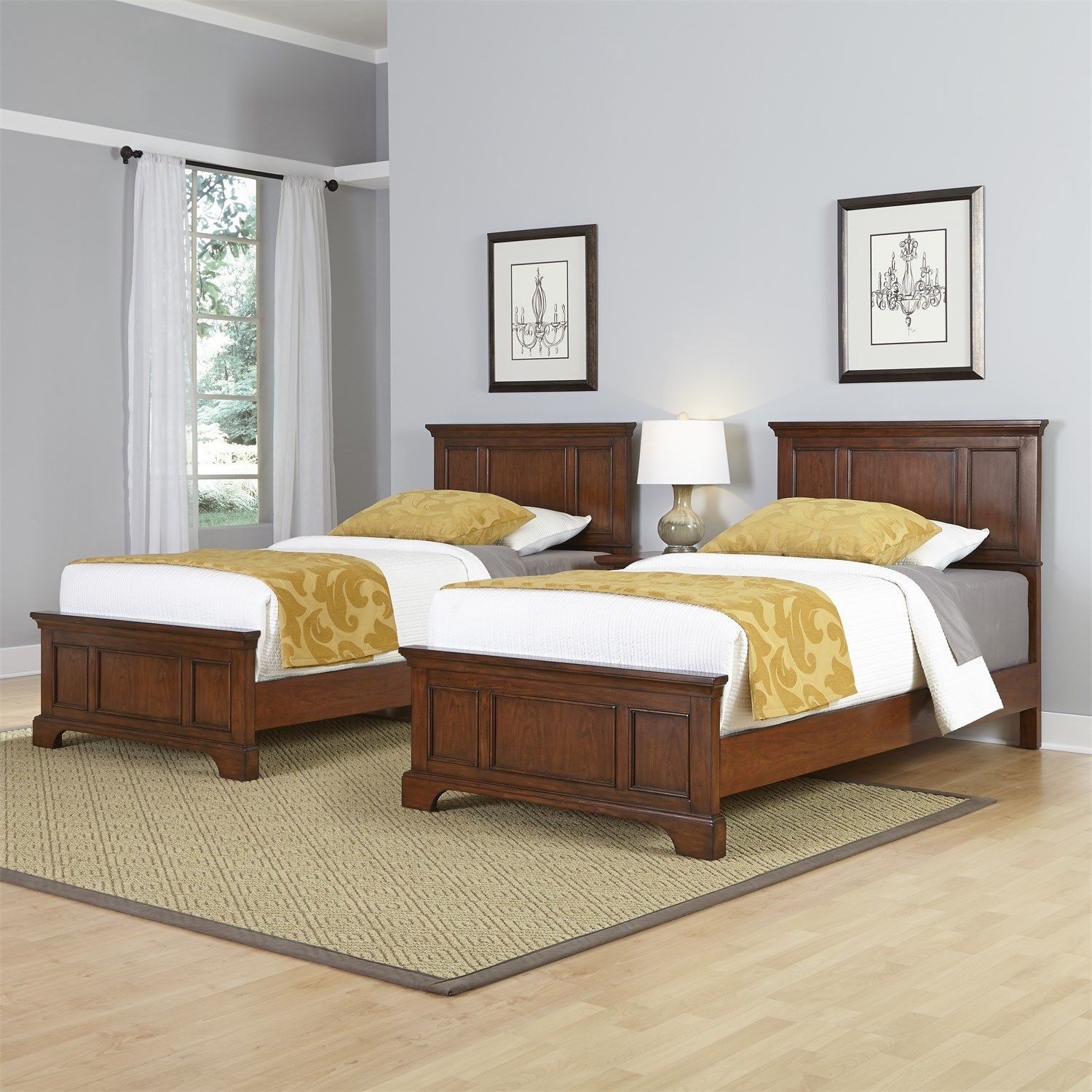 Bed Frames For Two Twin Beds