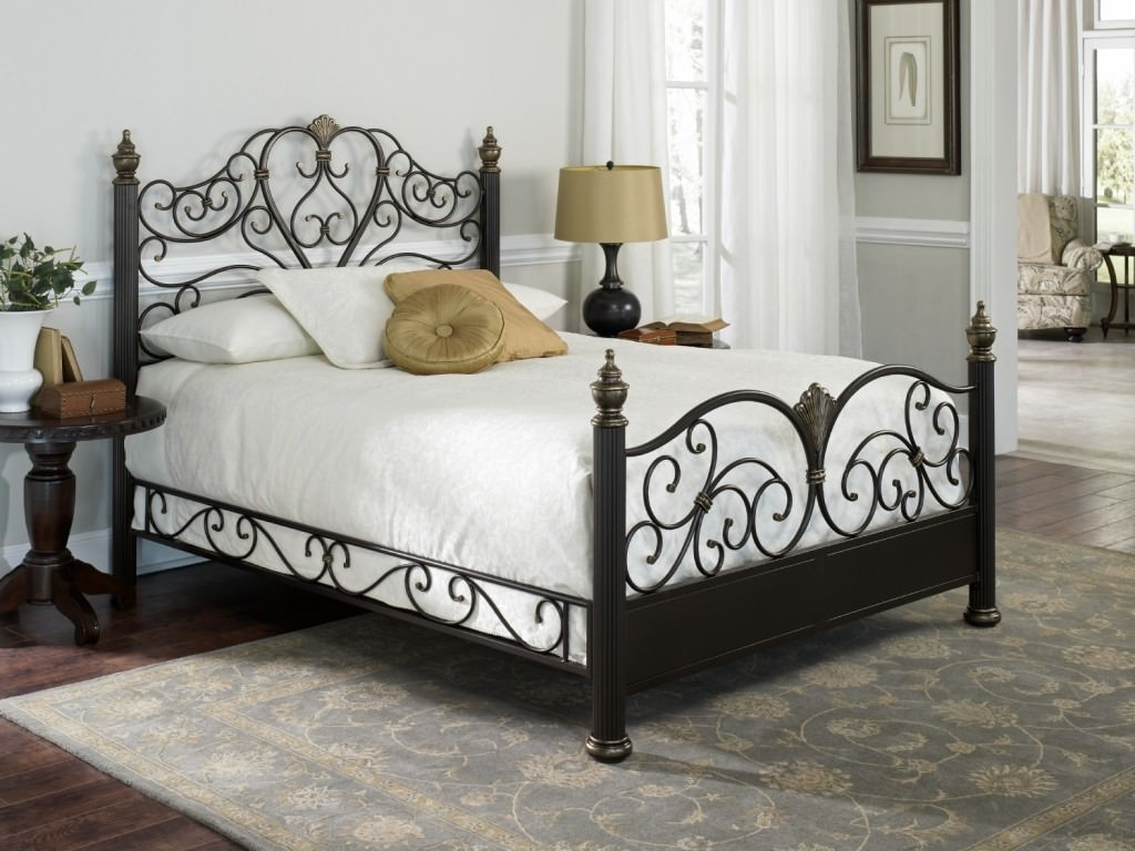 Black Steel Bed Frame