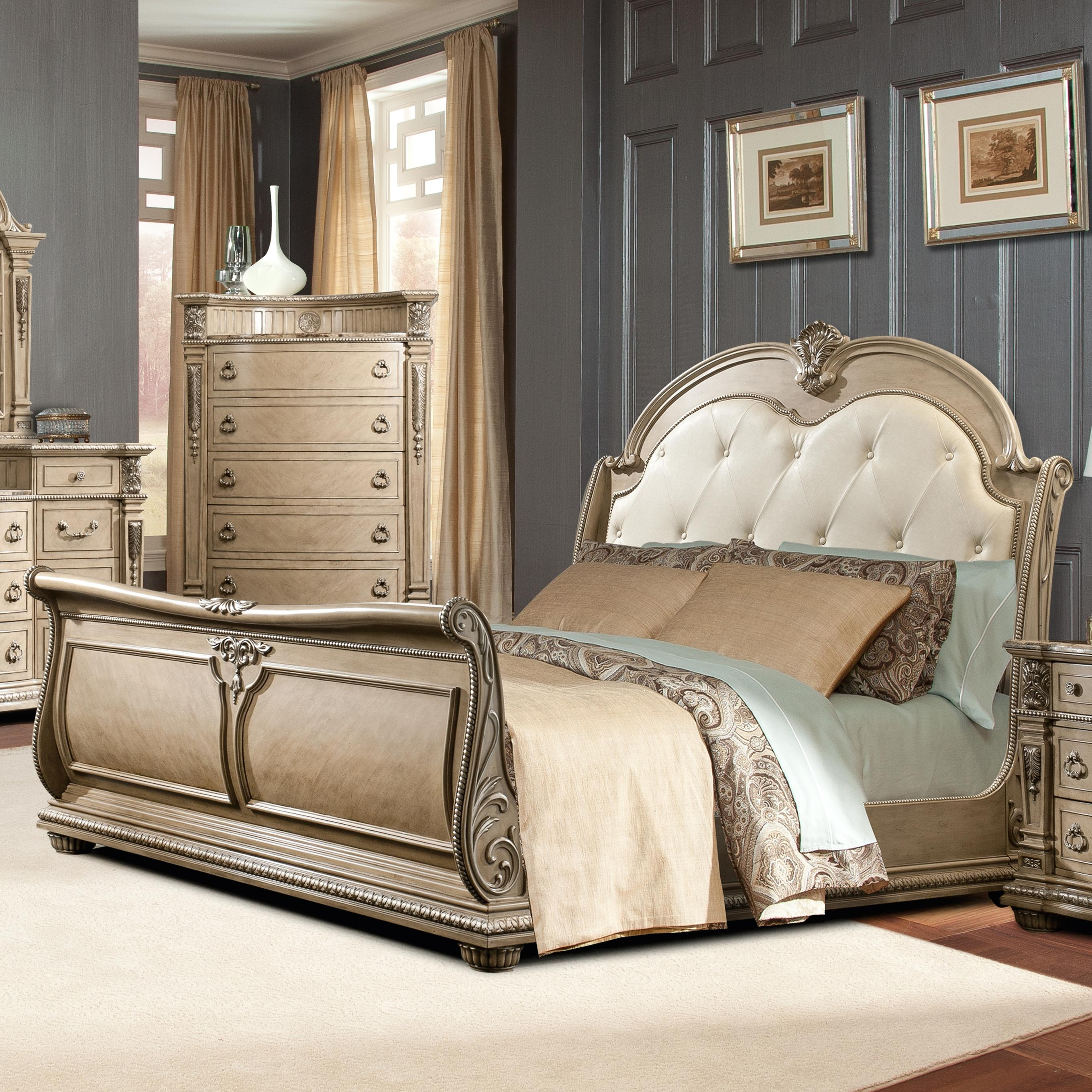 Bobs Furniture Queen Size Bed Frame